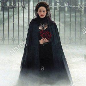 Jackets & Blazers - Full length flowing velvet opera cape OS